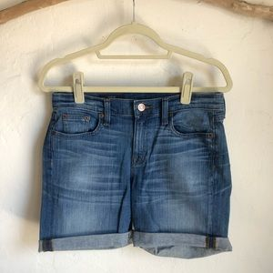 JCREW High Rise Denim Short